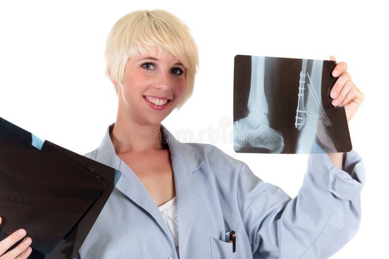 Doutor fêmea maduro atrativo fotos de stock