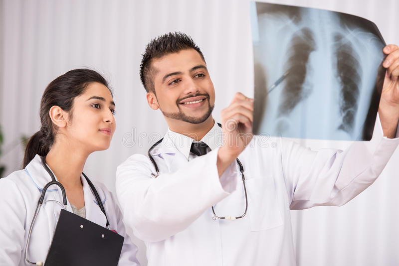 Doutor Indian foto de stock royalty free