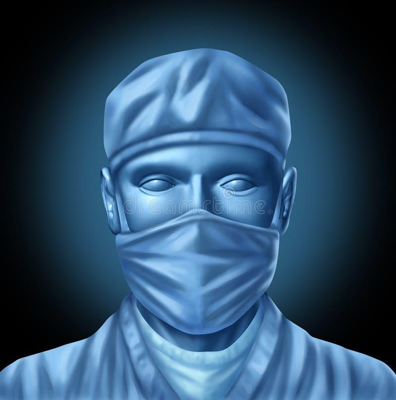 Doutor médico do cirurgião ilustração stock