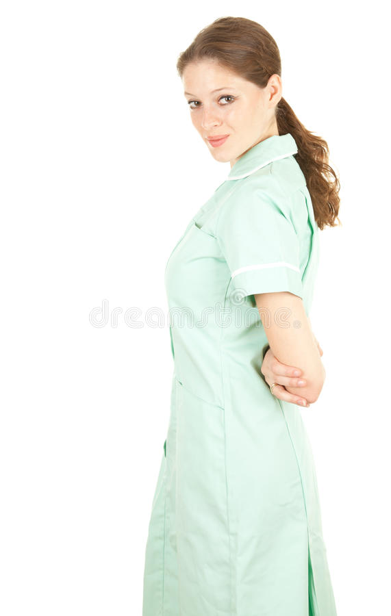 Doutor médico fêmea dos cuidados médicos foto de stock