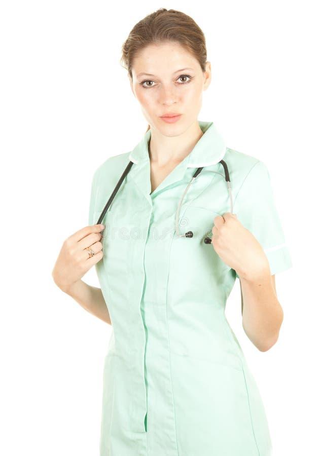 Doutor médico fêmea dos cuidados médicos foto de stock royalty free