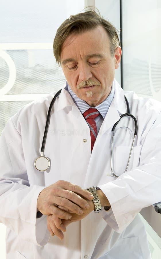 Doutor maduro imagens de stock