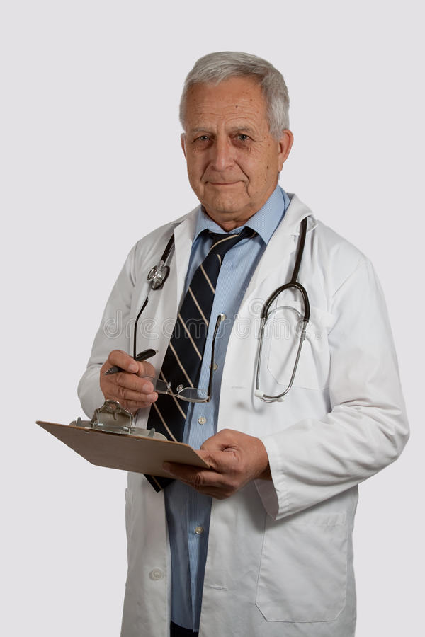 Download Doutor maduro do homem foto de stock. Imagem de cinzento - 16867354