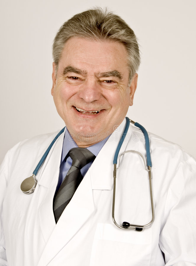 Doutor masculino imagens de stock