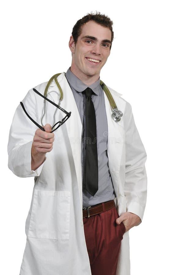 Doutor masculino novo fotos de stock