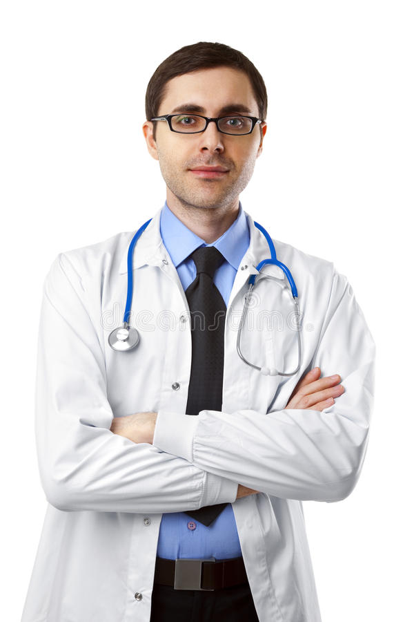 Doutor novo foto de stock royalty free