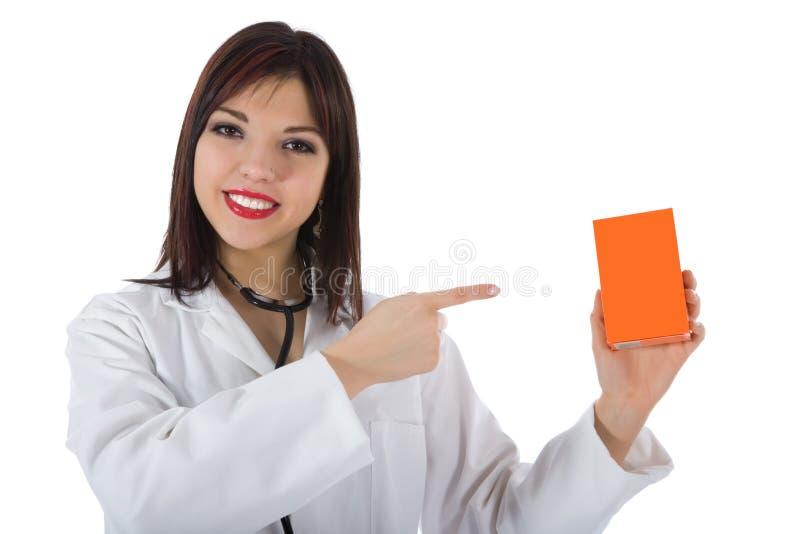Doutor novo com estetoscópio fotos de stock