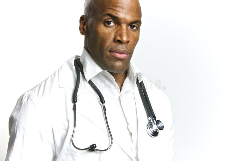 Doutor novo do americano africano fotos de stock royalty free