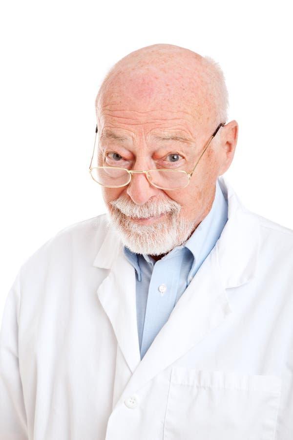 Doutor ou cientista sábio do farmacêutico imagem de stock