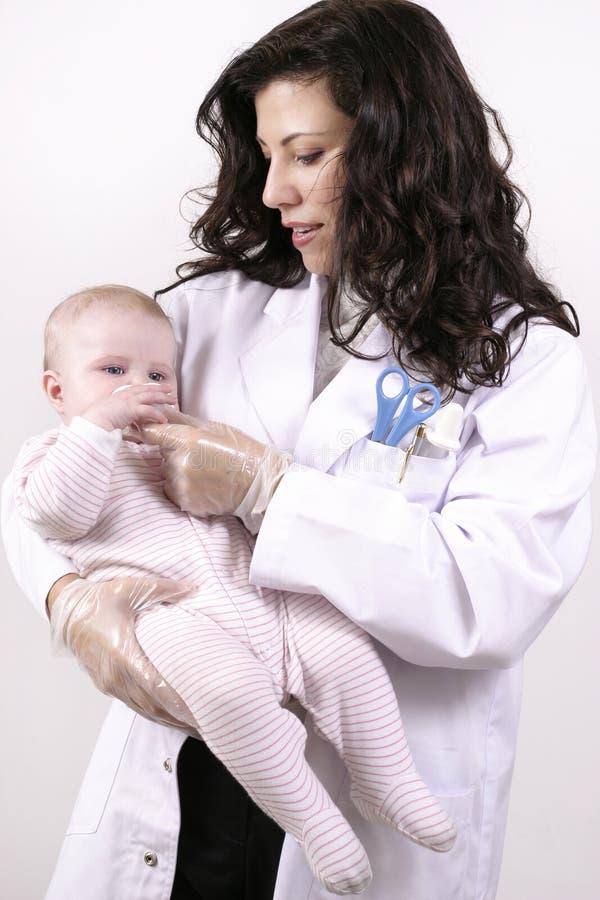 Doutor ou enfermeira fotografia de stock royalty free