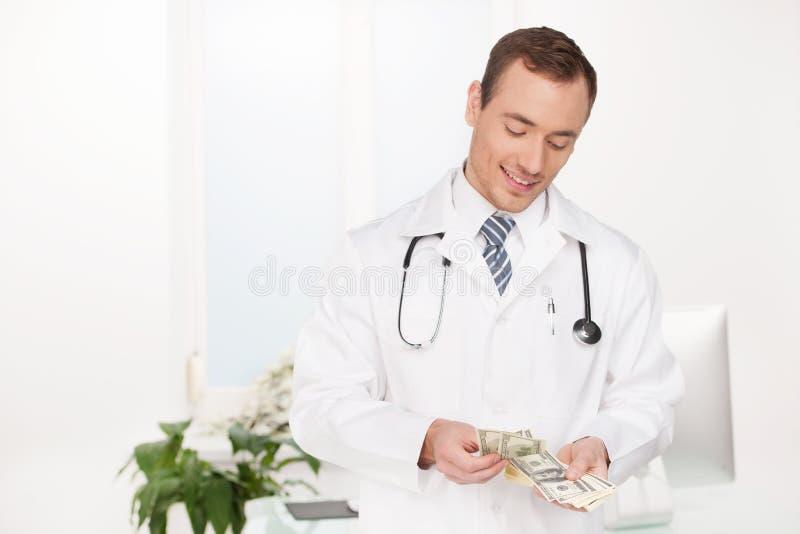 Doutor rico. imagens de stock royalty free