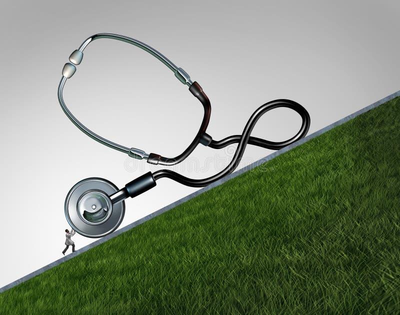 Doutor Stress Concept ilustração stock