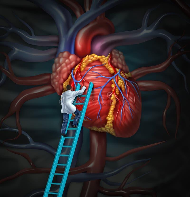 Doutor Therapy do coração ilustração do vetor