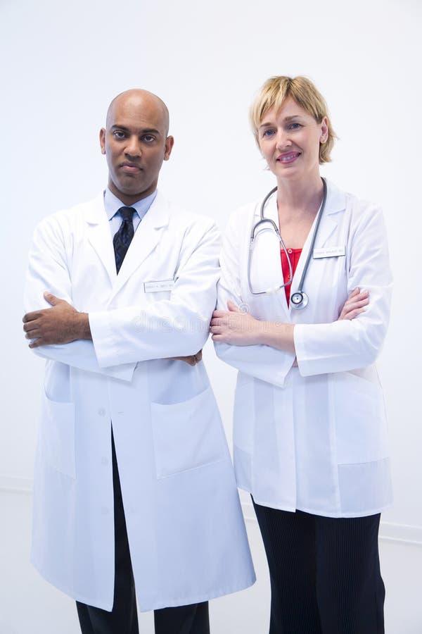 Doutores Equipe imagens de stock