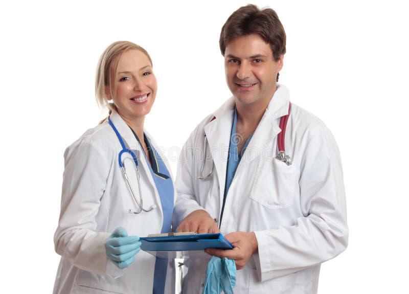 Doutores ou cirurgiões fotografia de stock royalty free