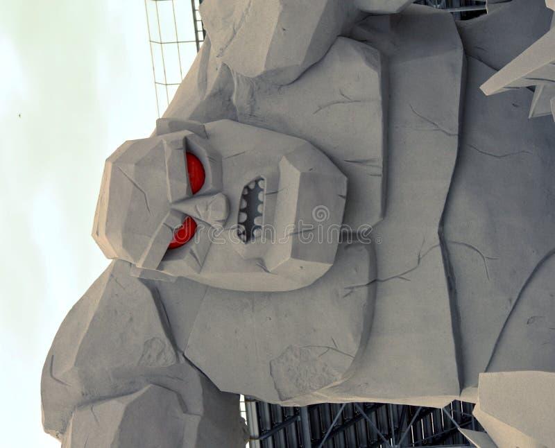 Douvres avale le monstre 1 image libre de droits
