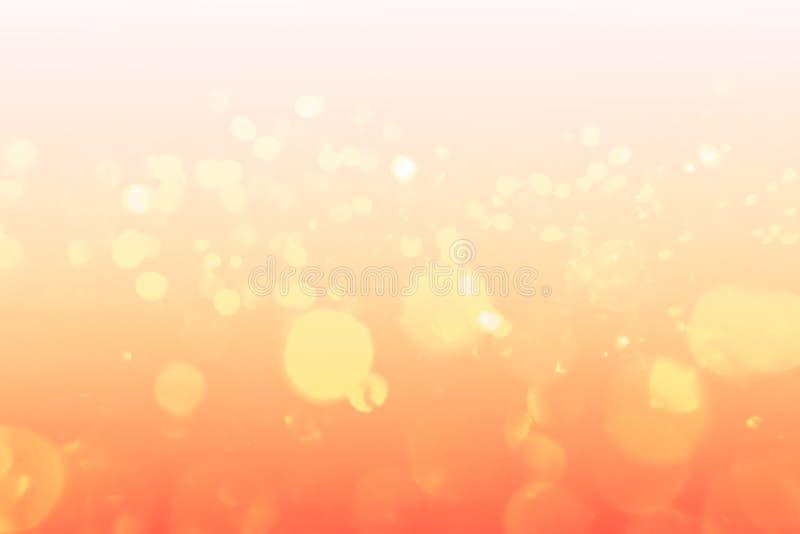 Doux dans des couleurs d'automne, fond abstrait de bokeh photos stock