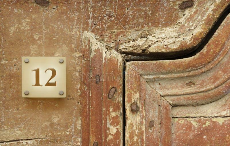 douze photographie stock libre de droits