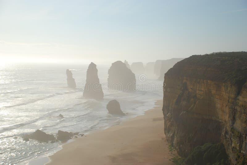 Douze apôtres dans Victoria, Australie photos stock