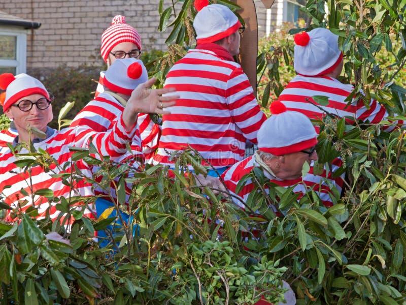 Dove è Wally o Waldo? fotografia stock libera da diritti