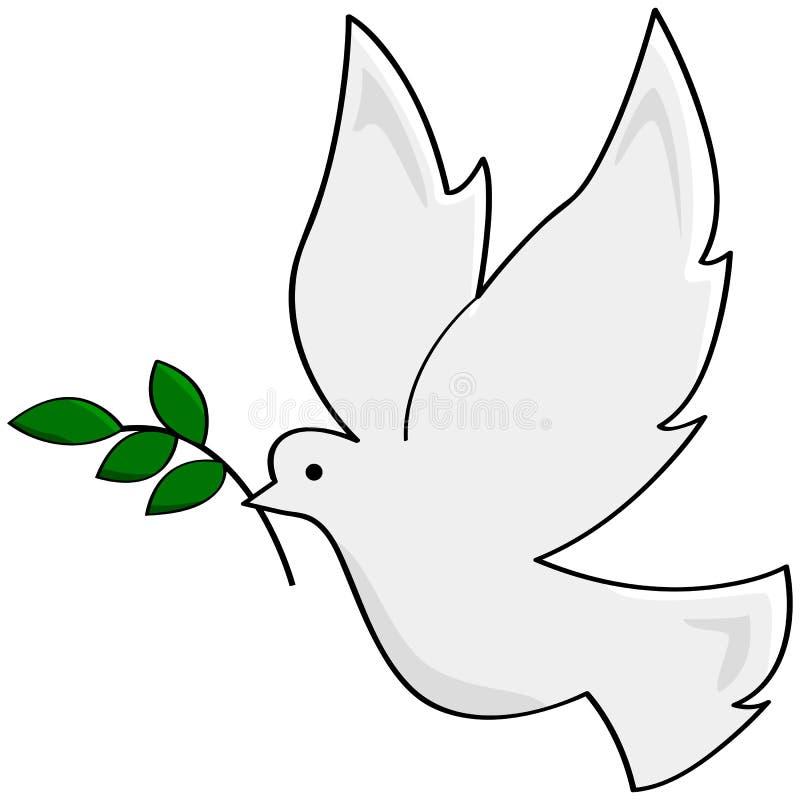 Dove мира бесплатная иллюстрация