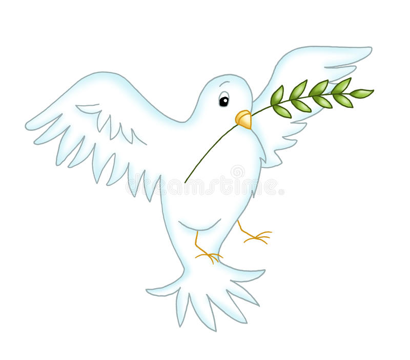Download Dove stock illustration. Illustration of wings, symbol - 13115304