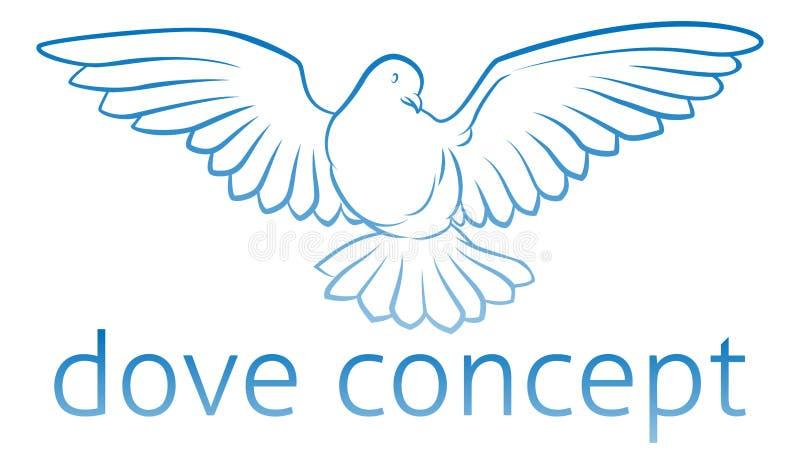 Dove Concept Stock Vector. Illustration Of Circular, Icons