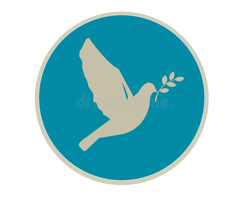 Dove of peace stock images