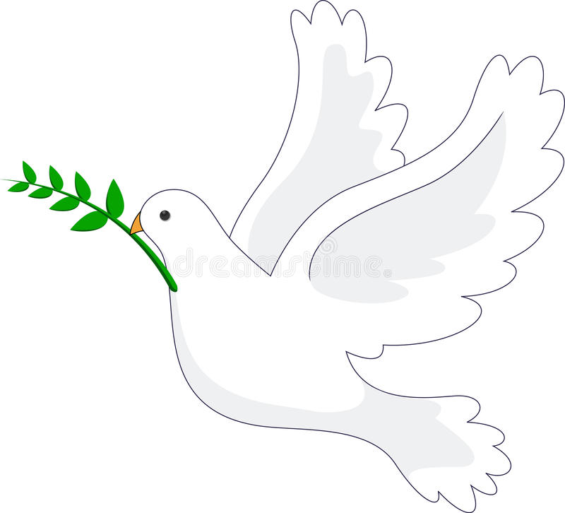Download Dove peace stock vector. Image of graceful, peace, pure - 28772605