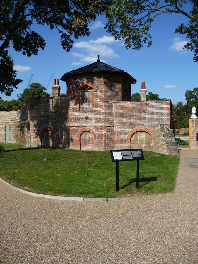 The Dovecot At Valentines Mansion Royalty Free Stock Image