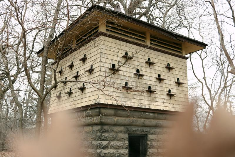 Dovecote In The Park royalty free stock photo