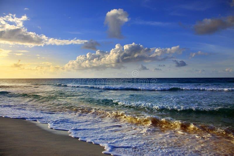 Dover Beach barbados photographie stock