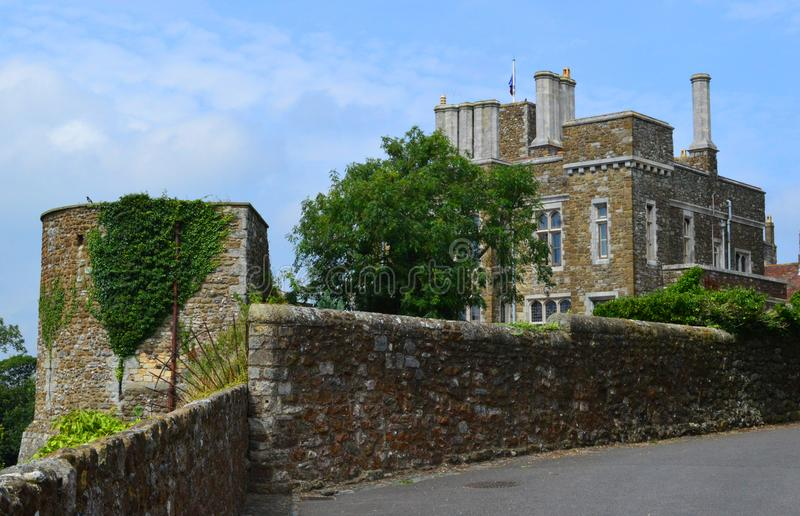 Dover Castle Buildings royalty free stock images