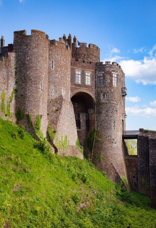 Dover Castle Gateway Kent Southern England UK arkivbild