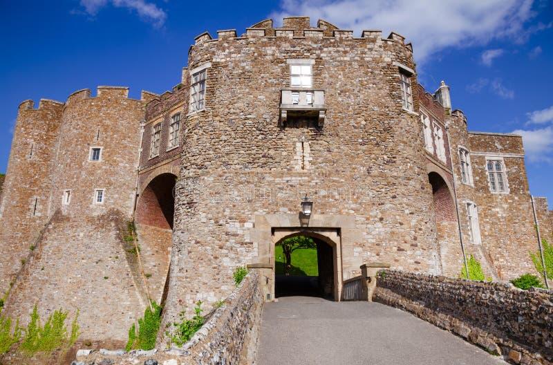 Dover Castle Gateway Kent Southern England UK arkivfoto