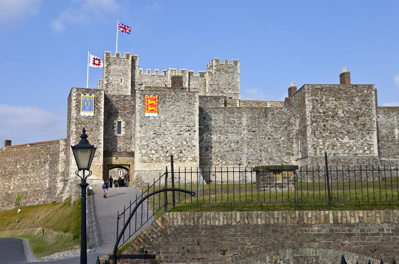 Dover Castle in Kent royalty free stock image