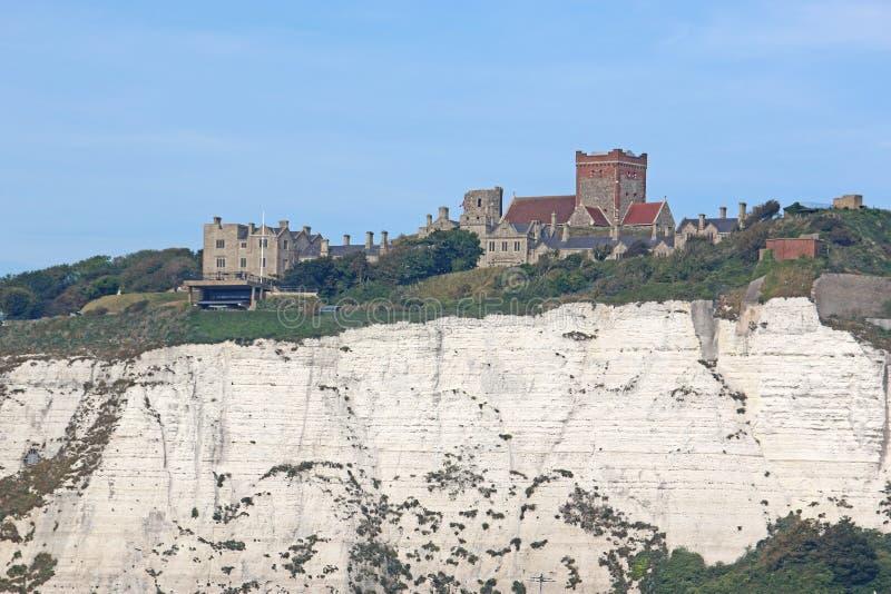 Dover Castle Kent arkivbild