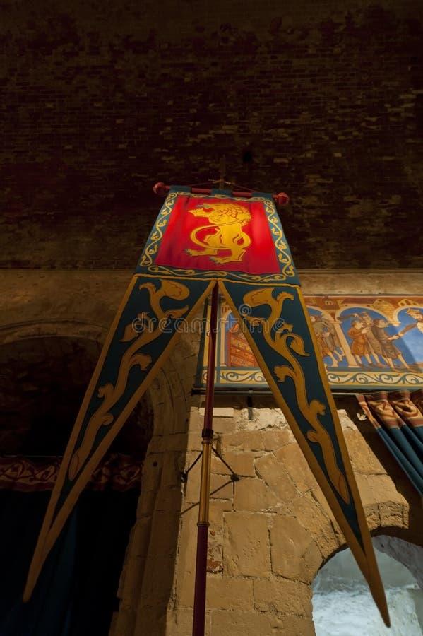 Dover castle kings chamber room stock images