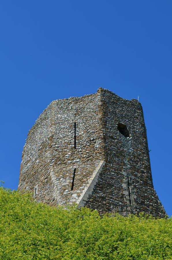 Dover Castle Ruins imagenes de archivo