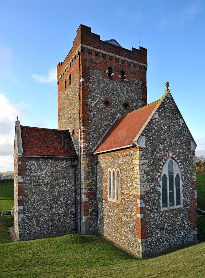 Dover Castle Saxon Church royalty free stock photography