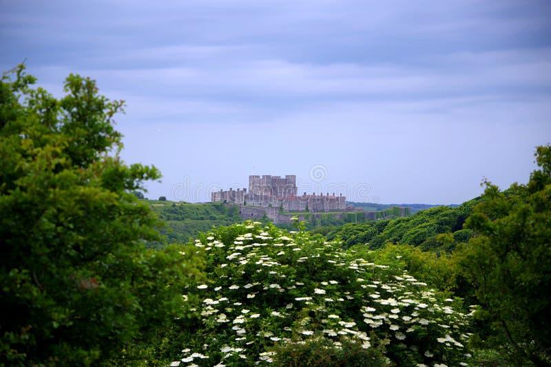 Dover Castle, `-Sleutel aan Engeland ` stock fotografie