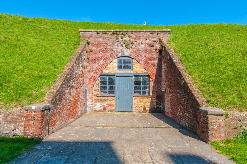 Dover Castle Wartime Tunnels imagem de stock