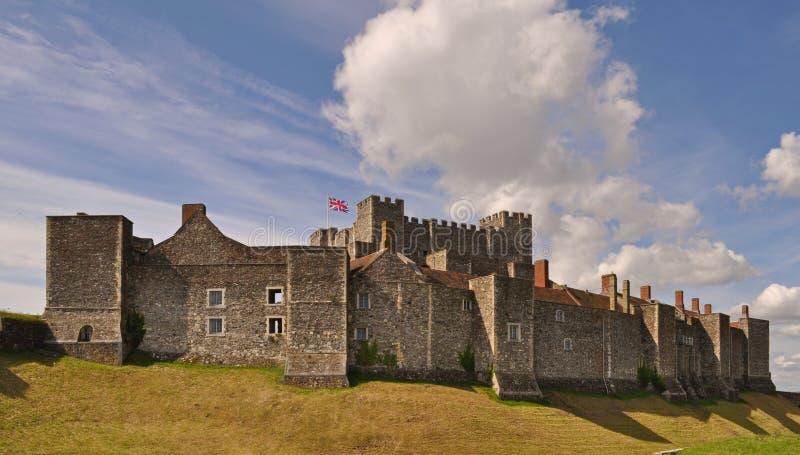 Dover Castle in zuidoostenengeland stock foto