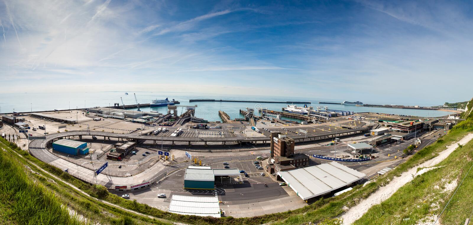 Download Dover Ferry Port Editorial Image - Image: 40383015