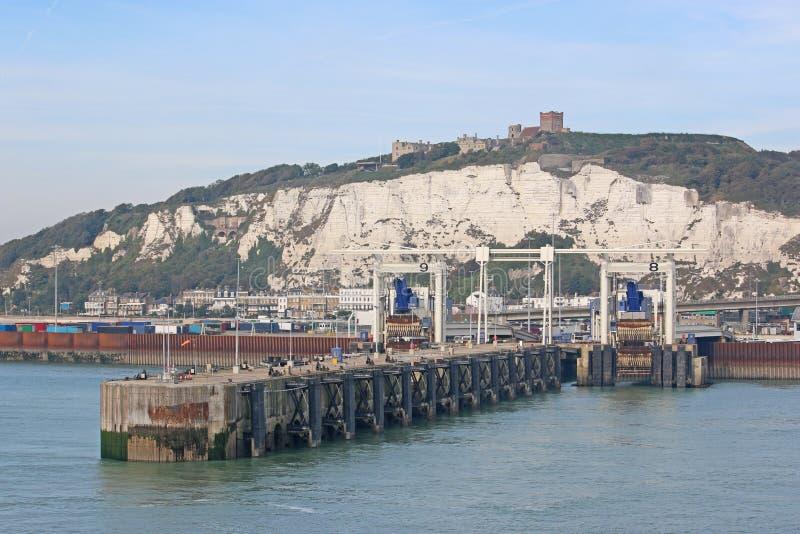 Dover Harbour royaltyfri foto