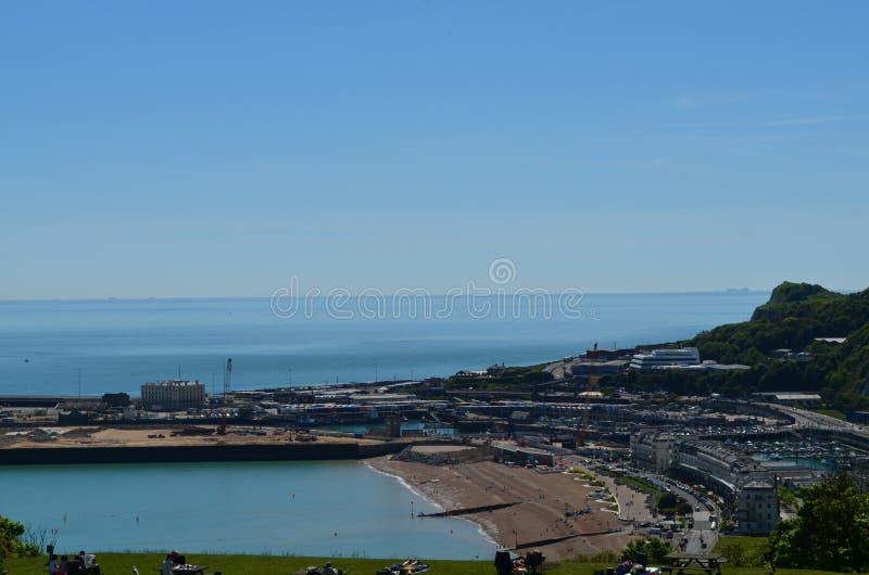 Dover Harbour royaltyfri bild