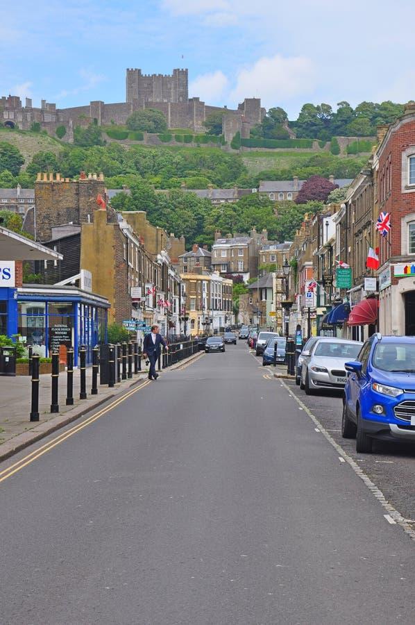 Dover kasztel, Zjednoczone Królestwo obraz royalty free