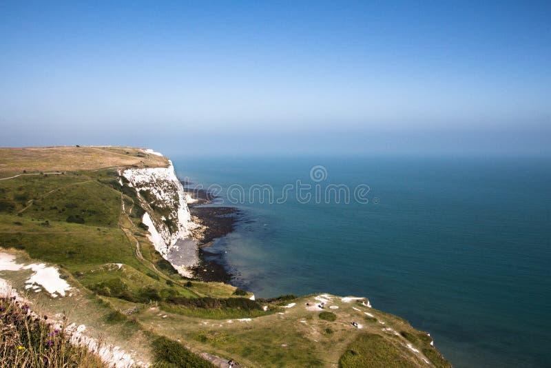Dover klifu white zdjęcie stock