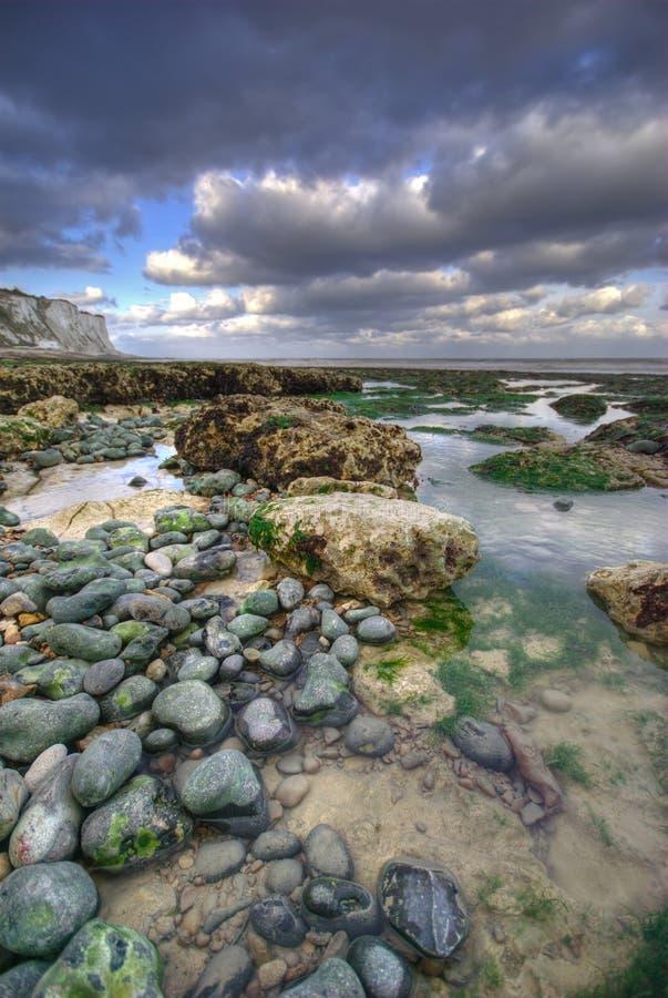 Dover na plaży obraz stock