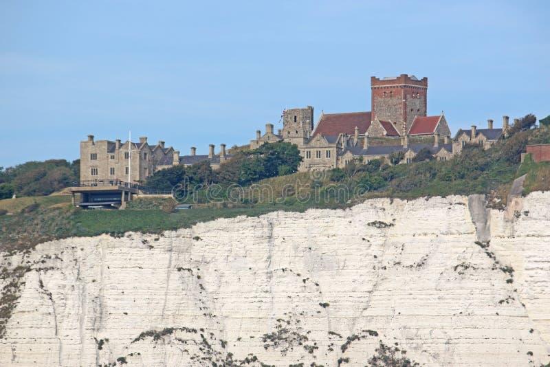Dover slott, England fotografering för bildbyråer